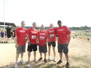 Tough Mudder 2013 team shot